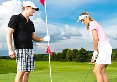 ゴルフを満喫