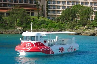 水中観光船シースカイ乗船券付